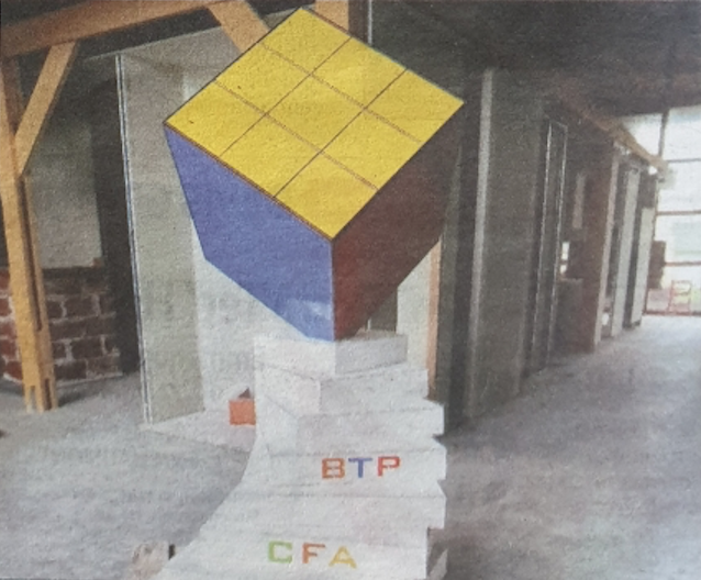 Antony Galdo - Carreleur-Mosaïste 1ère année BTP CFA 52 - Rubik's Cube
